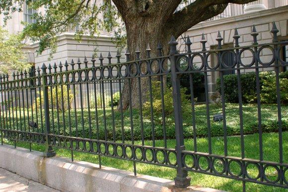 Fence in Bergen County
