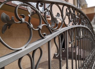 Iron Fence in Bergen County