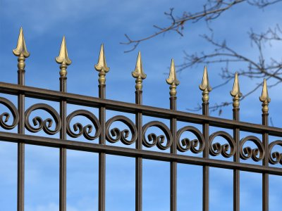 Metal Fencing in Bergen County